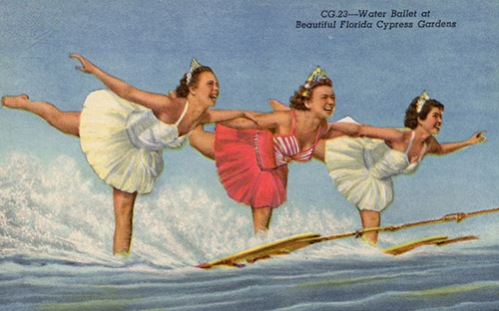 ca. 1952 --- Postcard --- Image by © Lake County Museum/CORBIS