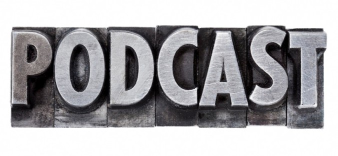podcast - internet broadcasting concept